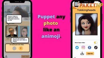 Cara Menggunakan Aplikasi TokkingHeads - Fhoto Menjadi Animasi Avatar