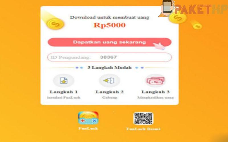 Download Aplikasi Fundluck Penghasil Uang 2021