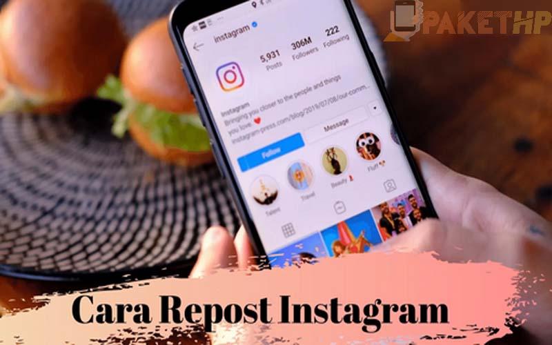 Cara Repost Instagram Dengan Mudah
