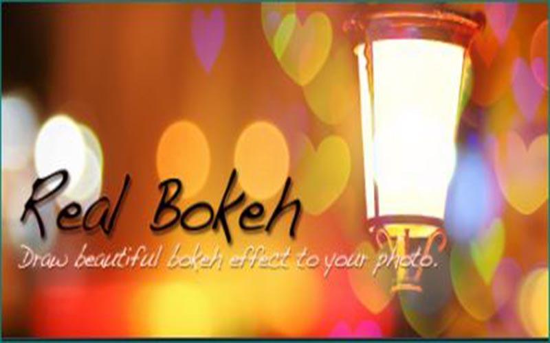 Real Bokeh Light Effect